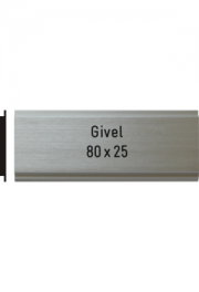 Givel 80x25 mm