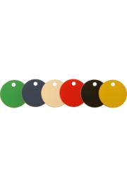 Rondelle, Kunststoff, ø 30 mm, 1 Loch