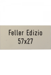 Feller Edizio 57x27mm