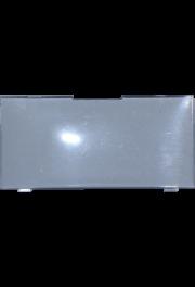 Plexiabdeckung, 60x28 mm, Feller Edizio due 57x27