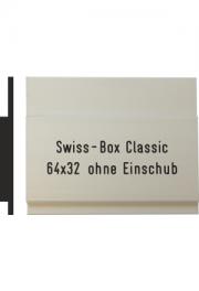 Briefkastenschild Swiss Box, 64x32 mm