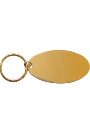 Schlüsselanhänger oval 65x35 mm